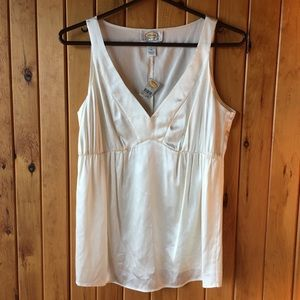 TALBOTS NWT silk sleeveless top